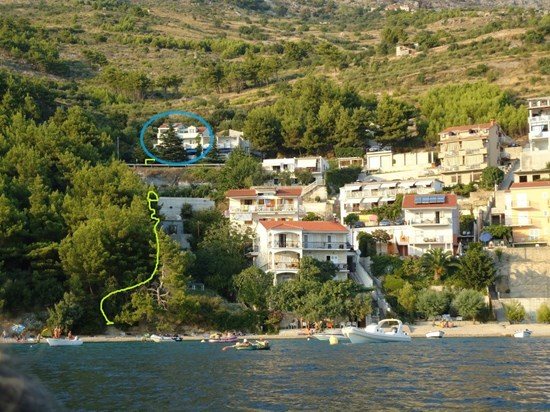 Appartements Dide Stipe, Omis