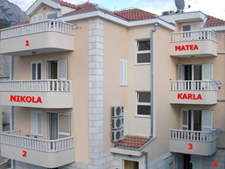Appartements Miličević, Baska Voda