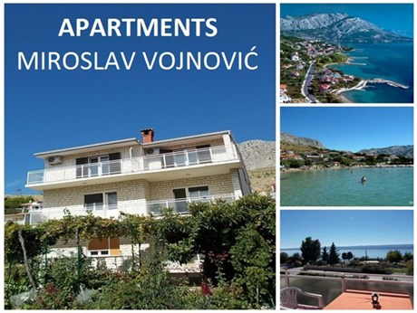 Appartements Miroslav Vojnovic, Omis