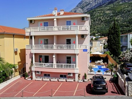 Appartements Podest, Baska Voda