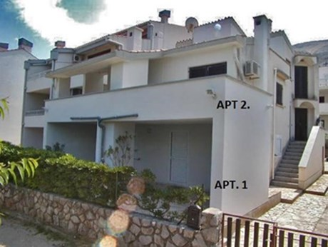 Appartements Ara - Villa Enrica, Baska