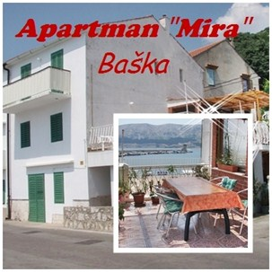 Appartements Mira, Baska