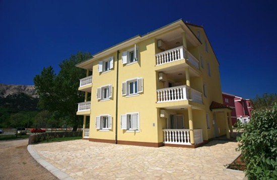 Appartements Villa Maria, Baska